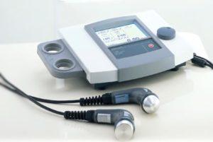 東海市名和接骨院の超音波治療器の写真